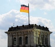 Reichstag building in Berlin. Stock Images