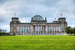Reichstag building in Berlin. Germany Royalty Free Stock Image