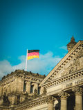 Reichstag building. Berlin. View of national symbol of Germany Royalty Free Stock Photo