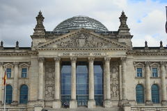 The Reichstag building / Bundestag Royalty Free Stock Photography