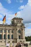 The Reichstag building / Bundestag Royalty Free Stock Photo