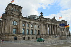 The Reichstag building / Bundestag Royalty Free Stock Image