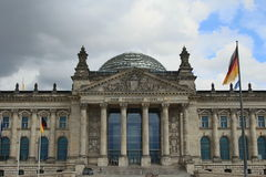 The Reichstag building / Bundestag Stock Photo