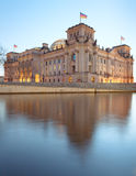 The Reichstag building (Bundestag), Berlin Germany Stock Photos