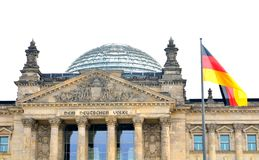 Reichstag building Stock Image