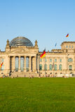 Reichstag building (german government) in Berlin, Royalty Free Stock Photo