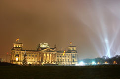 Reichstag building (German parliament) in Berlin Stock Images