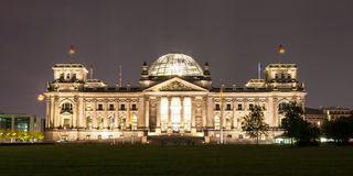 The Reichstag building is a historical edifice in Berlin Stock Image