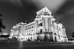 The Reichstag building is a historical edifice in Berlin Stock Photos