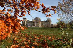 Reichstag building Stock Images