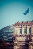 The Reichstag building (1884-1894) seat of the German parliament, designed by Paul Wallot, Berlin, Germany Stock Images