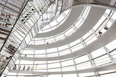 Reichstag builsing interior Royalty Free Stock Image