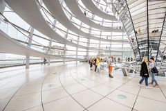 Reichstag builsing interior Royalty Free Stock Photo