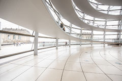 Reichstag builsing interior Royalty Free Stock Photos