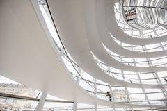 Reichstag builsing interior Stock Photos
