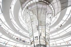 Reichstag builsing interior Stock Photo