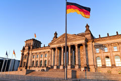 Reichstag - Bundestag Royalty Free Stock Images