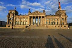 Reichstag (Bundestag) in Berlijn, Duitsland Royalty-vrije Stock Afbeelding