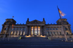 Reichstag (Bundestag) in Berlin, Germany Royalty Free Stock Photos