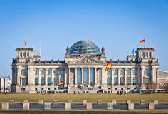 Reichstag (Bundestag) building in Berlin, Germany Stock Images