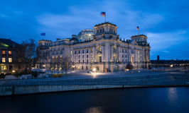 The Reichstag (Bundestag) building in Berlin, Germany Royalty Free Stock Photography