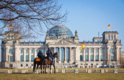 Reichstag (Bundestag) building in Berlin, Germany Royalty Free Stock Photo