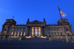 Reichstag (Bundestag) em Berlim, Alemanha Fotos de Stock Royalty Free