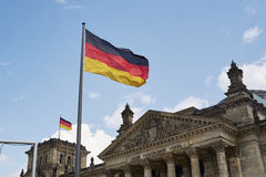 Reichstag byggnad Arkivfoton
