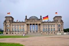 Reichstag byggnad, Berlin Germany Arkivfoton
