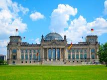 Reichstag byggnad, Berlin Germany Fotografering för Bildbyråer