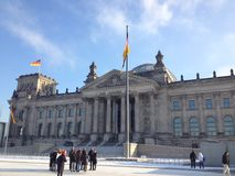 Reichstag. The center of the Reich. Berlin, Germany Royalty Free Stock Images
