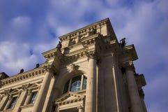 Reichstag che costruisce Berlino, Germania fotografie stock libere da diritti