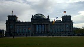 Reichstag dag Fotografering för Bildbyråer