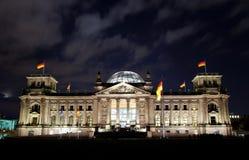 Reichstag de Berlín Imagen de archivo libre de regalías