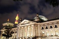 Reichstag de Berlim Fotos de Stock Royalty Free