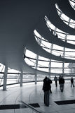 Reichstag dome. Reichstag parliament building in Germany Royalty Free Stock Photo