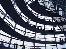 Reichstag dome Stock Photography