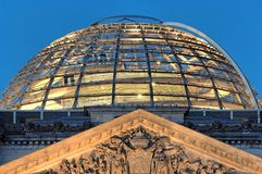Reichstag Dome Berlin Stock Photography