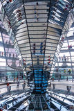 Reichstag dome, Berlin Royalty Free Stock Images