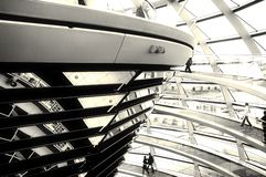 Reichstag Dome - Berlin Stock Image