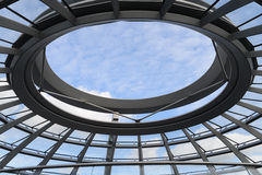 Reichstag dome in berlin Royalty Free Stock Images