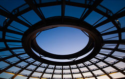 Reichstag dome Stock Image