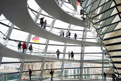 Reichstag dome Royalty Free Stock Image