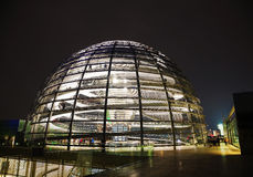 Reichstag dome in Berlin, Germany Royalty Free Stock Images
