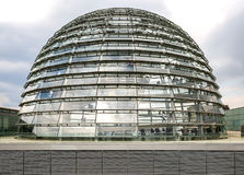 Reichstag Dome Berlin Royalty Free Stock Images
