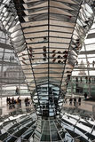 Reichstag Dome, Berlin Stock Images