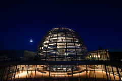 Reichstag dome exterior Royalty Free Stock Photo