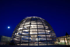 Reichstag dome exterior Stock Photos