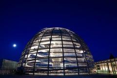 Reichstag dome exterior Stock Photos