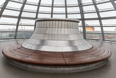 Reichstag dome in German parliament Bundestag, Berlin, Germany Stock Photography